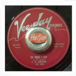 "45Re ✦ J. B. LENOIR ✦ ""Do What I Say / Oh Baby"" Superb 2 Sider. Killer Guitar ♫"